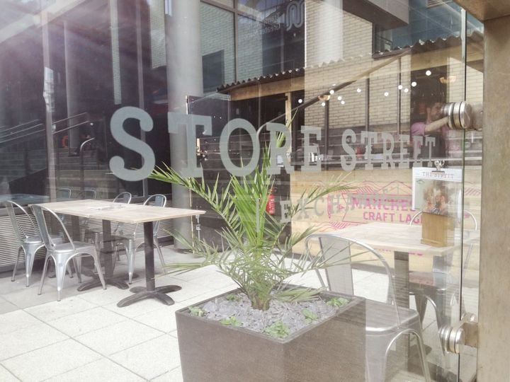 5 Reasons to visit the Strore Street Exchange Terrace this Spring